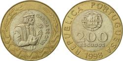World Coins - Portugal, 200 Escudos, 1998, , Bi-Metallic, KM:655