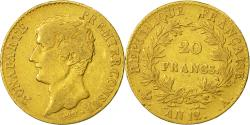 World Coins - Coin, France, Napoléon I, 20 Francs, 1804, Paris, VF(20-25), Gold, KM:651