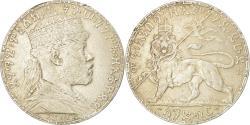 World Coins - Coin, Ethiopia, Menelik II, Birr, 1895 (1902-03), Paris, , Silver