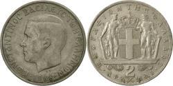 World Coins - Coin, Greece, Constantine II, 2 Drachmai, 1966, , Copper-nickel, KM:90