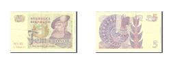 World Coins - Sweden, 5 Kronor, 1974, Undated, KM:51r3, EF(40-45)