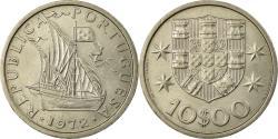 World Coins - Coin, Portugal, 10 Escudos, 1972, , Copper-Nickel Clad Nickel, KM:600