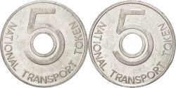 Us Coins - United States, Token, National Transport