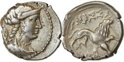Ancient Coins - Coin, Massalia, Drachm, 125-90 BC, Marseille, , Silver, Feugère &