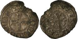 Ancient Coins - Coin, France, Anjou, Charles I, Obol, Angers, , Silver, Boudeau:157