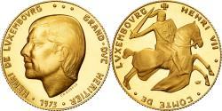 World Coins - Luxembourg, Token, 40 Francs, Henri de Luxembourg, Grand Duc Héritier, 1973