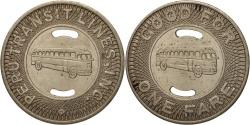 Us Coins - United States, Token, Peru Transit Lines Inc.