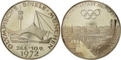 World Coins - Germany, Medal, Jeux Olympiques de Munich, 1972, MS(65-70), Silver