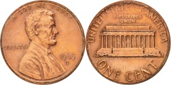 Us Coins - United States, Lincoln Cent, 1985, Denver, , KM:201b