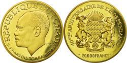 World Coins - Coin, Chad, François Tombalbaye, 20000 Francs, 1970, Paris, , Gold, KM:12