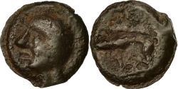 Ancient Coins - Coin, Leuci, Potin à la tête chauve, EF(40-45), Potin, Delestrée:228