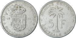 World Coins - Coin, Belgian Congo, RUANDA-URUNDI, 5 Francs, 1956, , Aluminum, KM:3