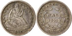 Us Coins - Coin, United States, Seated Liberty Half Dime, Half Dime, 1838, U.S. Mint