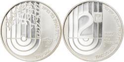 World Coins - Coin, Israel, 2 New Sheqalim, 1992, Stuttgart, BE, , Silver, KM:235