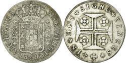 World Coins - Coin, Portugal, Maria I, 400 Reis, Pinto, 480 Reis, 1793, Lisbon, VF(30-35)