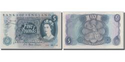 World Coins - Banknote, Great Britain, 5 Pounds, Undated (1970-1971), KM:375c, UNC(63)