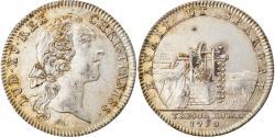 World Coins - France, Token, Louis XV, Trésor Royal, History, 1750, , Silver