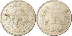 World Coins - Coin, Japan, Mutsuhito, Yen, 1896, Chinese chopmarks, , Silver