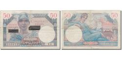 World Coins - Banknote, France, 50 Francs, 1956, 1956-11-01, KM:M16, VF(30-35), Fayette:41.1