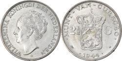 World Coins - Curacao, 2-1/2 Gulden, 1944, Denver, Silver, KM:46