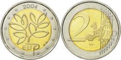 World Coins - Finland, 2 Euro, EU expansion, 2004, , Bi-Metallic, KM:114