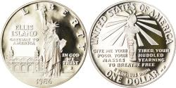 Us Coins - Coin, United States, Dollar, 1986, U.S. Mint, San Francisco, Proof,