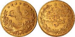 World Coins - Coin, Turkey, Abdul Hamid II, 25 Kurush, 1897, Qustantiniyah, , Gold