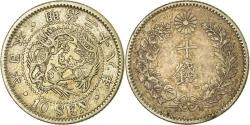 World Coins - Coin, Japan, Mutsuhito, 10 Sen, 1895, , Silver, KM:23