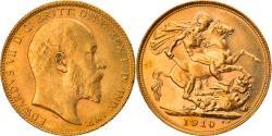 World Coins - Coin, Australia, Edward VII, Sovereign, 1910, Sydney, , Gold, KM:15