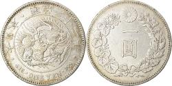 World Coins - Coin, Japan, Mutsuhito, Yen, 1889, , Silver, KM:A25.3