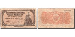 World Coins - Banknote, Spain, 5 Pesetas, 1937, 1937-07-18, KM:106a, F(12-15)