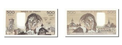 World Coins - France, 500 Francs, 500 F 1968-1993 ''Pascal'', 1991, KM #156h, 1991-01-03,...