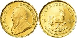 World Coins - Coin, South Africa, 1/4 Krugerrand, 1980, , Gold, KM:106