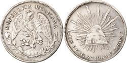 World Coins - Coin, Mexico, Peso, 1904, Zacatecas, , Silver, KM:409.3