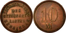 World Coins - Coin, Germany, Kommandantur des Gefangenen-Lagers, 10 Mark, , Copper