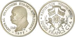 World Coins - Coin, Togo, Gnassingbe Eyadema, 10000 Francs, 1977, , Silver, KM:9