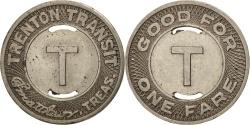 Us Coins - United States, Token, Trenton Transit