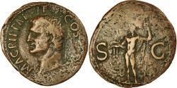 Ancient Coins - Coin, Agrippa, As, 37-41, Rome, , Bronze, RIC:58