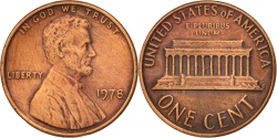 Us Coins - United States, Lincoln Cent, 1978, Philadelphia, , KM:201