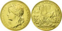World Coins - France, Medal, Prise de la Bastille, History, 1980, Lechevrel, , Gold