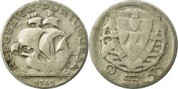 World Coins - Coin, Portugal, 2-1/2 Escudos, 1943, , Silver, KM:580