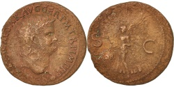 Ancient Coins - Nero, As, Lyons, , Bronze, RIC:477