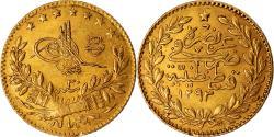 World Coins - Coin, Turkey, Abdul Hamid II, 25 Kurush, 1904, Qustantiniyah, , Gold