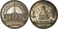 World Coins - France, Token, Compagnie Elbeuvienne d'Eclairage par le Gaz, Normandie, 1838