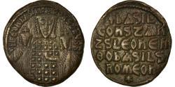 Ancient Coins - Coin, Basil I, Follis, 870-879, Constantinople, , Copper, Sear:1712