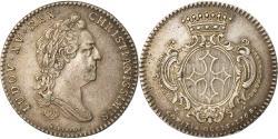World Coins - France, Token, Royal, Louis XV, États de Languedoc, 1768, R.Filius,