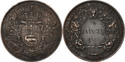 World Coins - France, Medal, Société Havraise de Protection des Animaux, 1890,