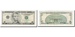 Us Coins - Banknote, United States, Five Dollars, 2003, KM:4855, EF(40-45)