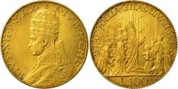 Ancient Coins - Coin, VATICAN CITY, Pius XII, 100 Lire, 1950, Rome, , Gold, KM:48