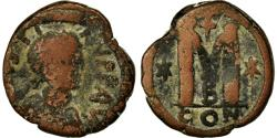 Ancient Coins - Coin, Justin I, Follis, 518-522, Constantinople, , Bronze, Sear:62